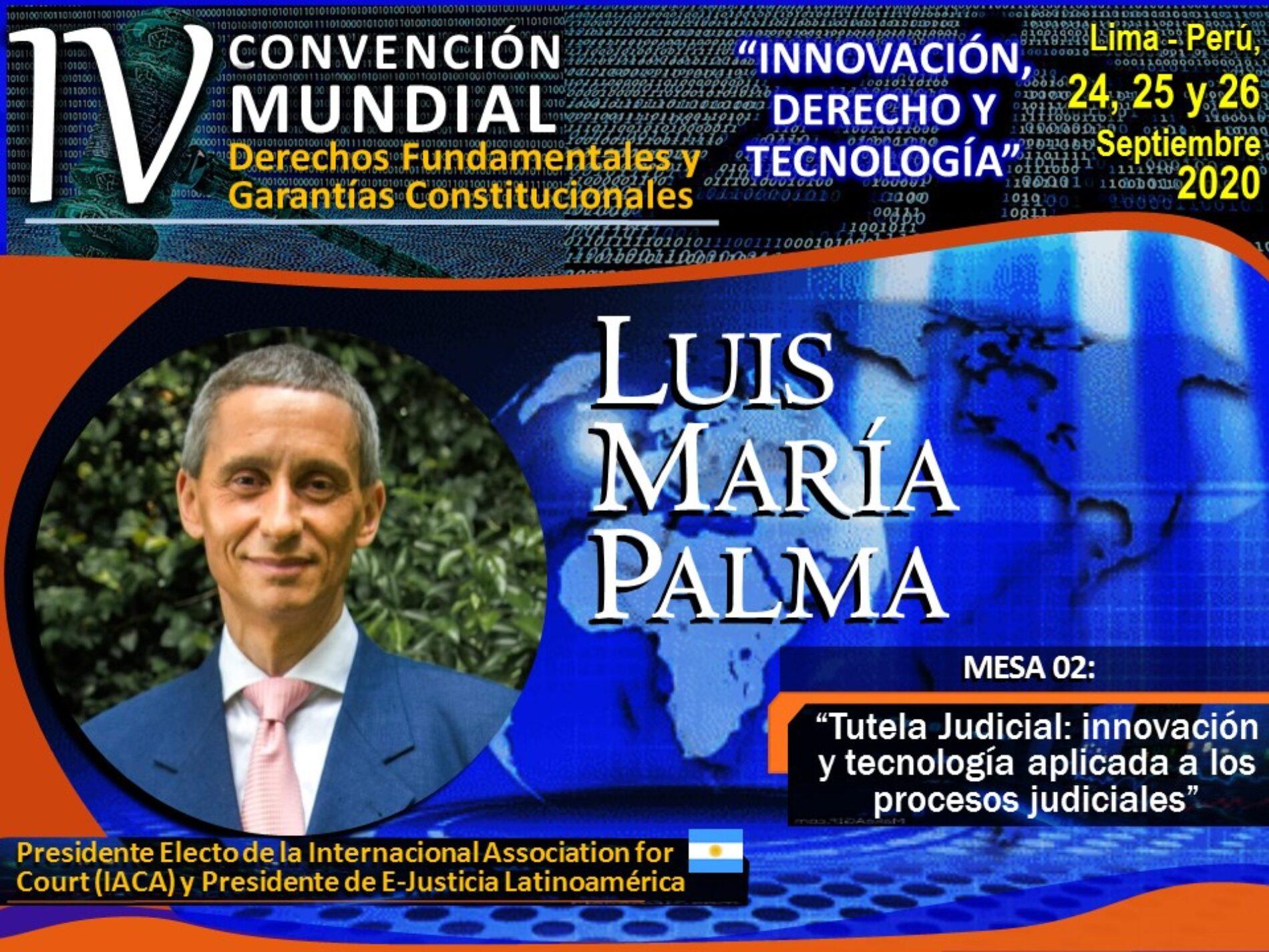 IV Convención Mundial de Derechos Fundamentales y Garantías Constitucionales: «INNOVACIÓN, DERECHO Y TECNOLOGÍA».