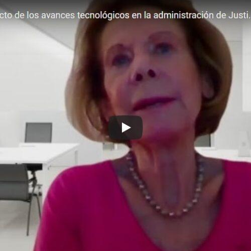 Jornada: «El impacto de los avances tecnológicos en la administración de Justicia»