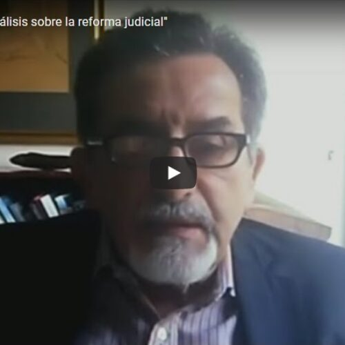 14/10 «Encuentro de análisis sobre la reforma judicial»