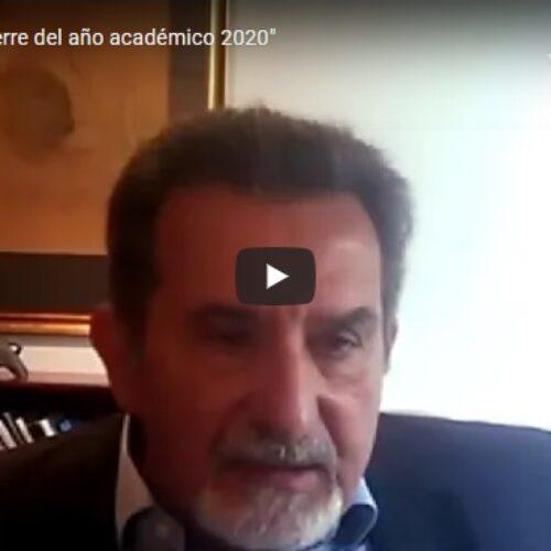 «Reunión de cierre del año académico 2020»