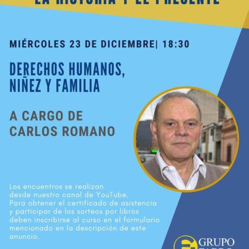 Seminario: «DERECHOS HUMANOS, NIÑEZ Y FAMILIA»