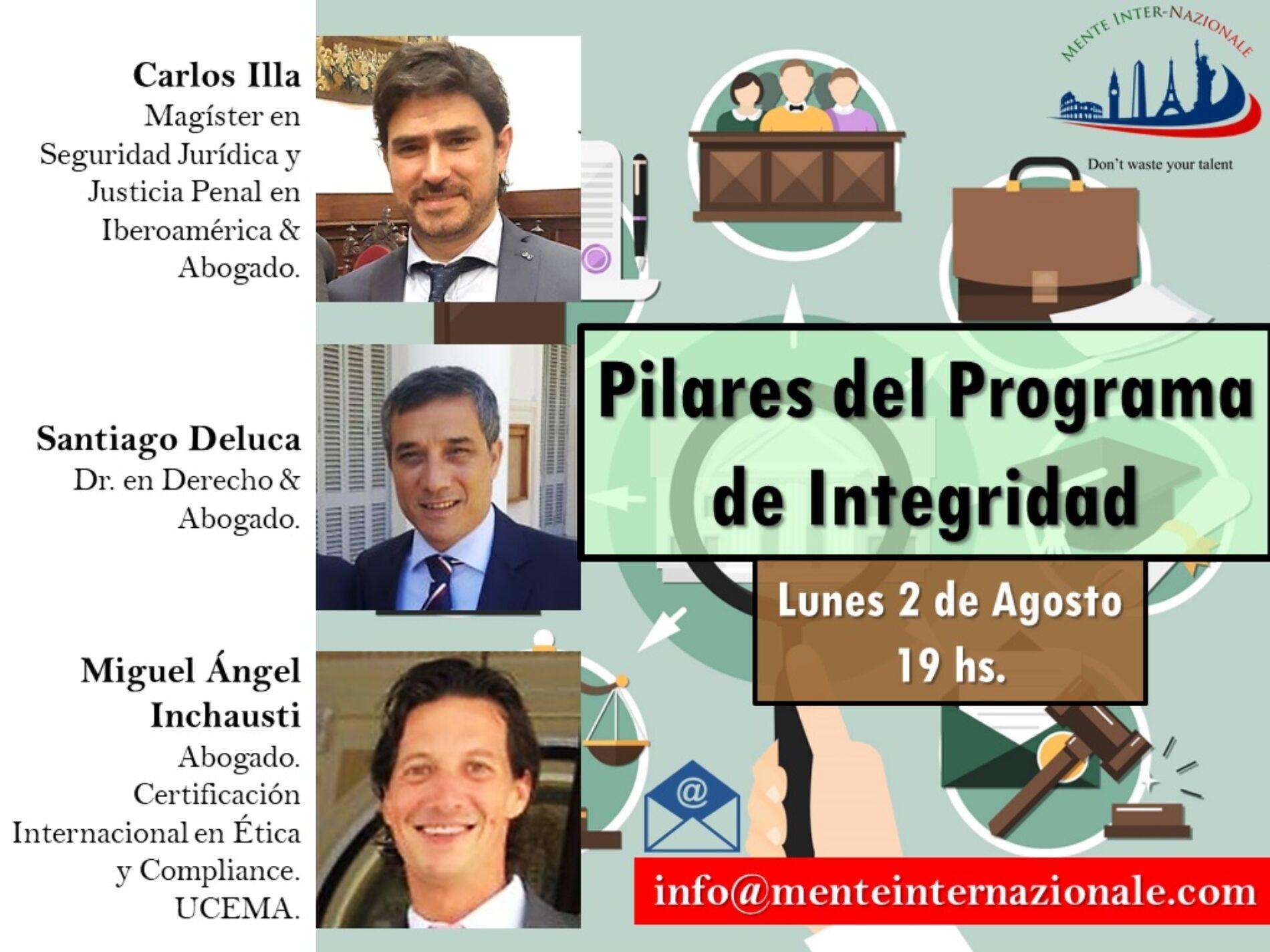Charla: «Pilares del Programa de Integridad»