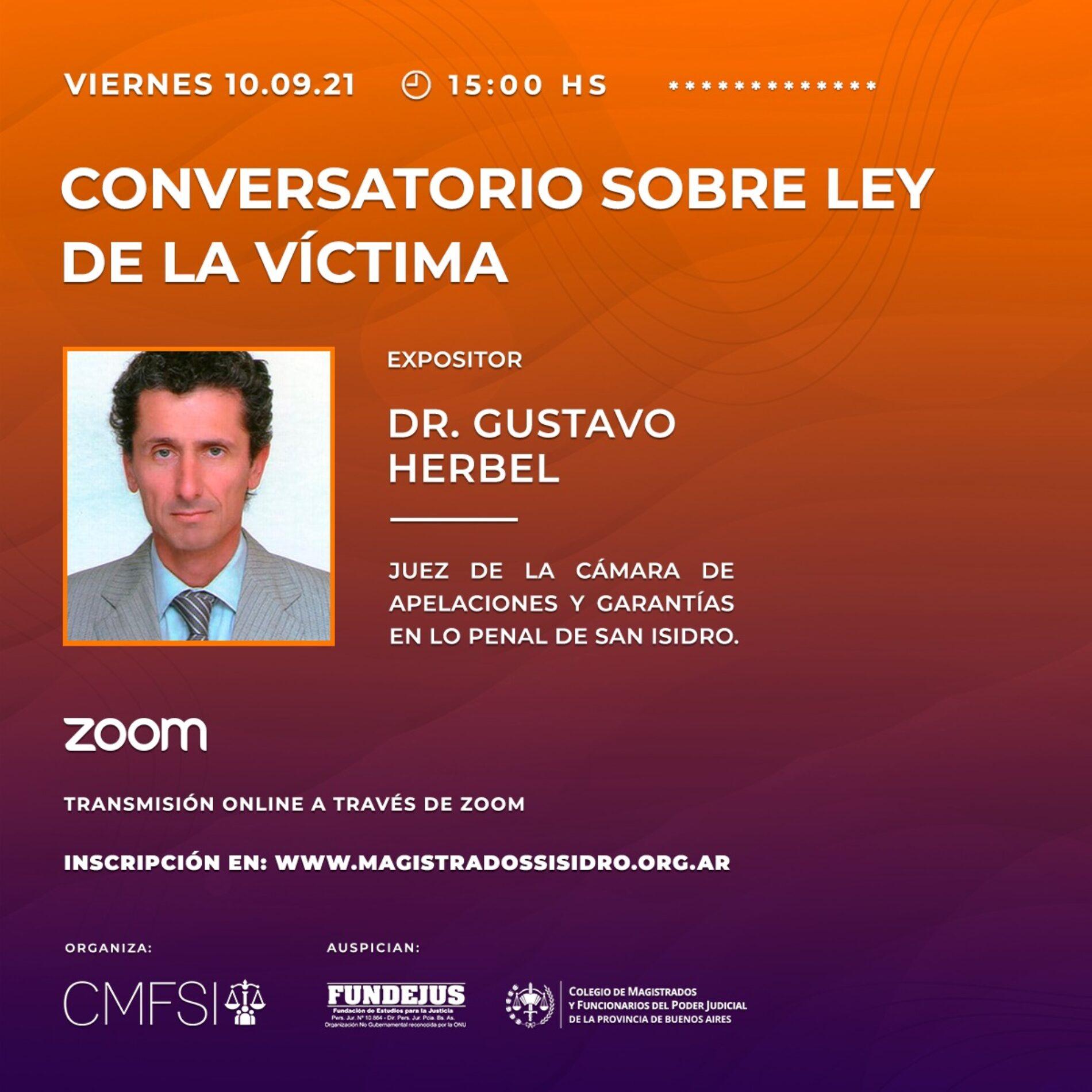 «CONVERSATORIO SOBRE LEY DE LA VÍCTIMA»