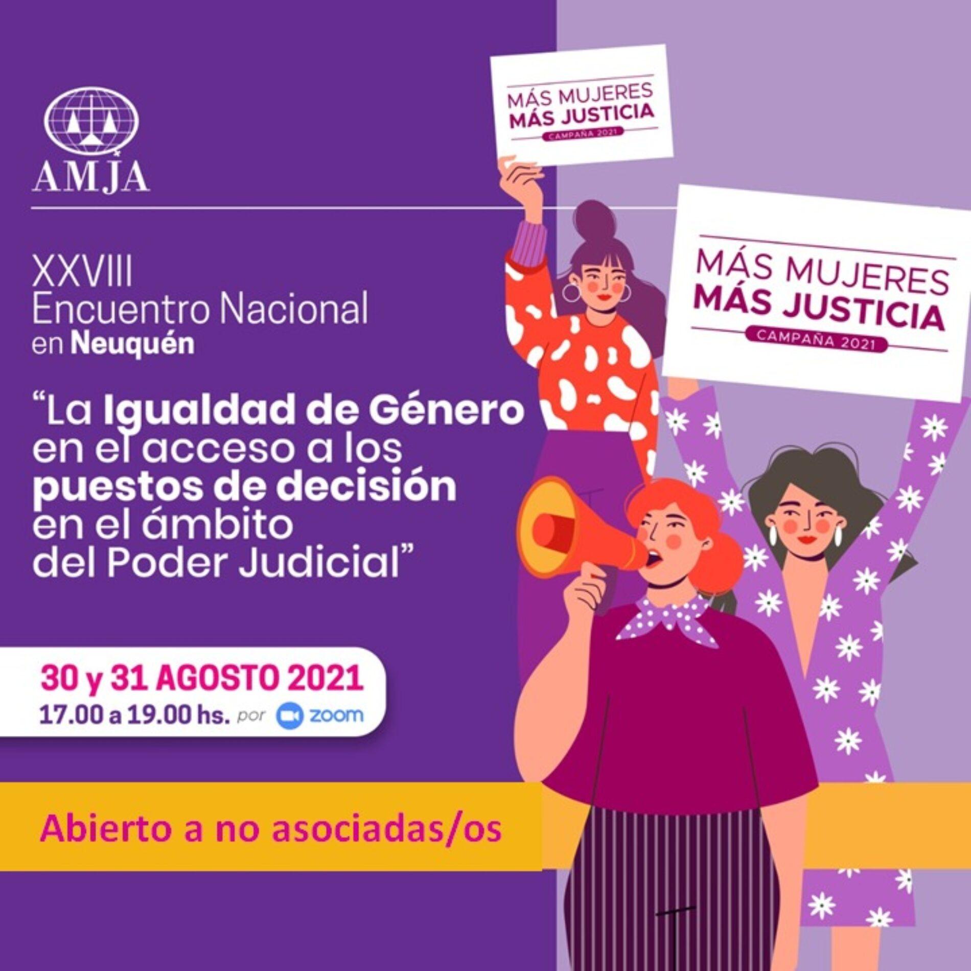 XXVIII Encuentro Nacional de AMJA en la Provincia del Neuquén.