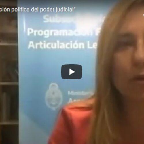 """Actividad: """"Función política del poder judicial"""""""