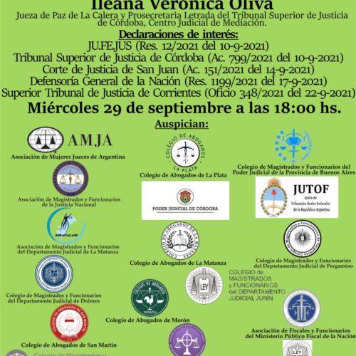 Próxima actividad: «Actualidad de la Mediación en Argentina»