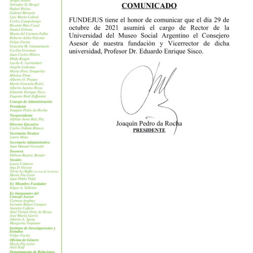 COMUNICADO -25/10/2021-